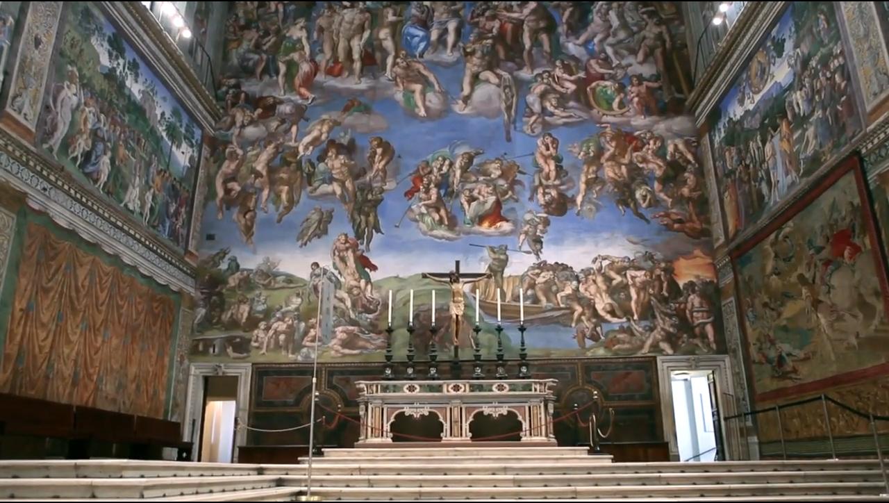 Резултат с изображение за Сикстинската капела.